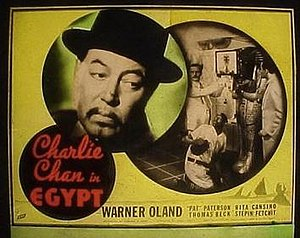 Charlie Chan in Egypt - Image: Charlie Chan in Egypt Film Poster