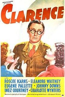 <i>Clarence</i> (1937 film) 1937 film by George Archainbaud