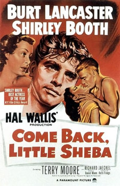 Picture of a movie: Come Back, Little Sheba