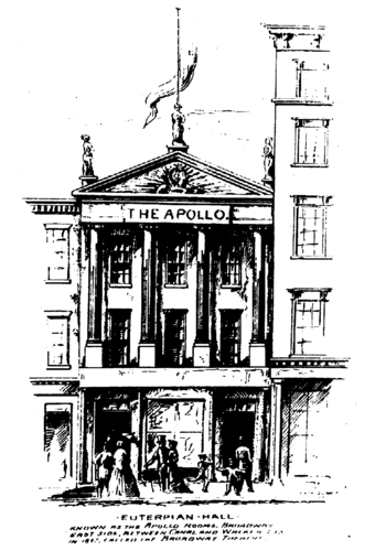 Apollo Rooms, from NYC Philharmonic Archives