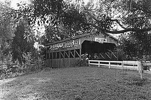 Coral Springs Covered Bridge - Bridge, circa 1960s