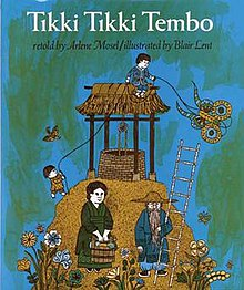 Cover of Tikki Tikki Tembo by Arlene Mosel.jpg