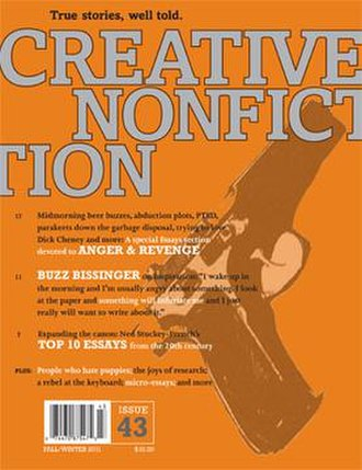 Creative Nonfiction (magazine) - Fall-Winter 2011 cover