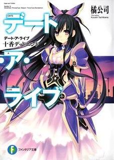 <i>Date A Live</i> Japanese light novel series and its adaptations