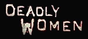 Deadly Women - Image: Deadly Women logo