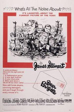 Dear Brigitte - Image: Dear Brigitte Poster
