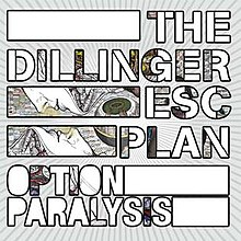 Cover for the vinyl version of Option Paralysis.