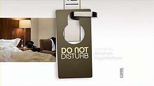 Do Not Disturb (TV series) - Intertitle