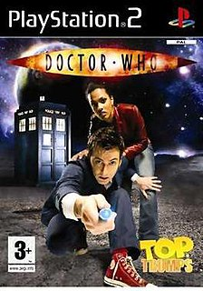 <i>Top Trumps: Doctor Who</i> 2008 video game