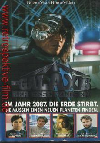 "Earth Star Voyager - The German-language VHS introduces the plot: ""In year 2087. The Earth is dying. They must find a new planet."""