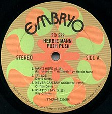Herbie Mann Memphis Two Step