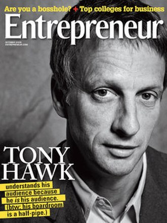 Entrepreneur (magazine) - Image: Entrepreneur (magazine) October 2009 cover
