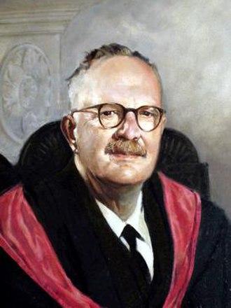Eric Birley - Birley's Hatfield College portrait.