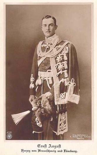 Ernest Augustus, Duke of Brunswick - Image: Ernstbrunswick 1887 2