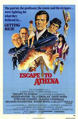 Escape to Athena - Escape to Athena release poster
