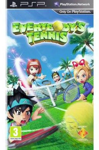 Everybody's Tennis Portable - European cover art