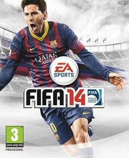 <i>FIFA 14</i> 2013 association football video game