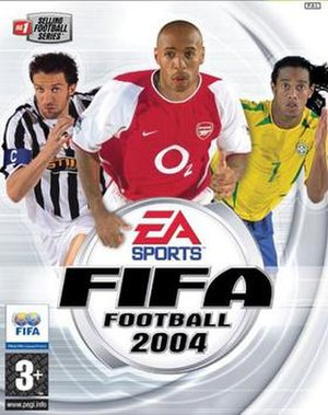 FIFA Football 2004 - Image: FIFA Football 2004 cover