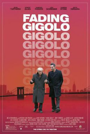 Fading Gigolo - Theatrical release poster