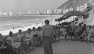 Copacabana Palace - Fashion show at the Copacabana Palace in the 1940s
