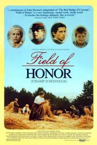 Field of Honor (1987 film) - Image: Field of Honor Film Poster