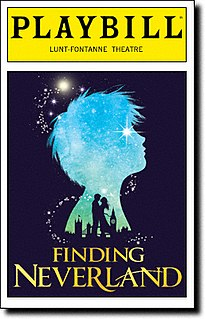 stage musicals, 2012 and 2014, adaptations of a fiction play about J.M. Barrie