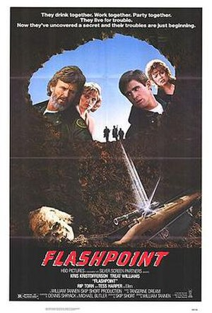 Flashpoint (1984 film) - Theatrical release poster