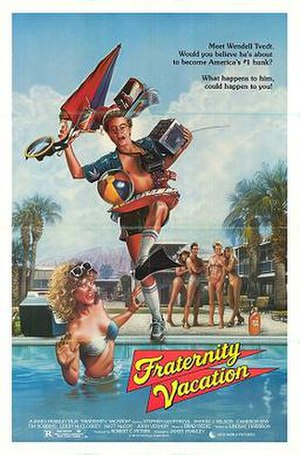 Fraternity Vacation - Fraternity Vacation DVD cover