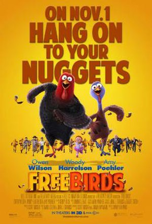 Free Birds - Theatrical release poster
