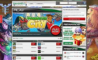 Friendster Social gaming site