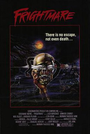 Frightmare (1983 film) - Theatrical release poster