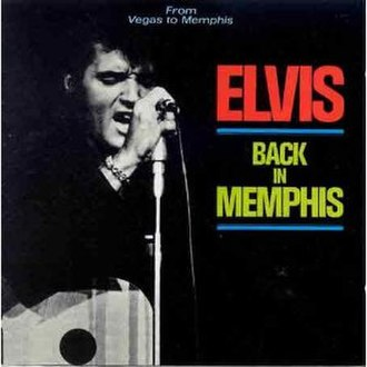 Elvis in Person at the International Hotel, Las Vegas, Nevada - Image: From Vegas to Memphis