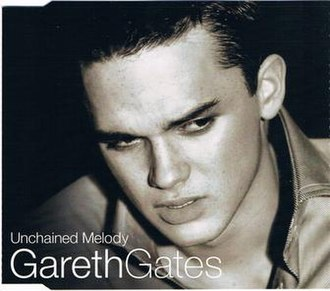 Unchained Melody - Image: Gareth Gates Unchained Melody (single cover)