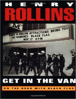 <i>Get in the Van</i> Book by Henry Rollins
