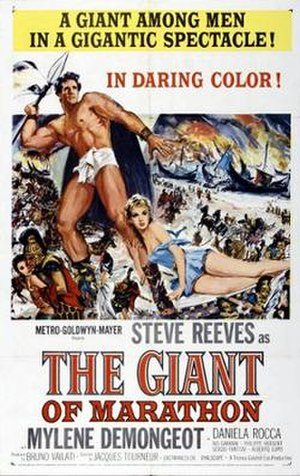 The Giant of Marathon - Theatrical release poster