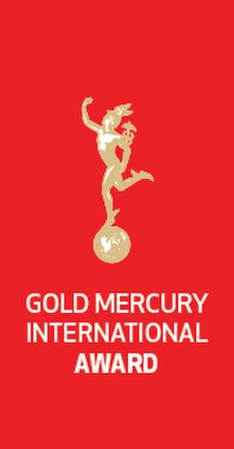 Gold Mercury International Award - Image: Gold Mercury International Logo