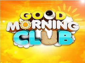 Good Morning Club - Good Morning Club title card used from February 6, 2012 to October 11, 2013