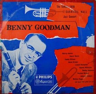 The Famous 1938 Carnegie Hall Jazz Concert - Image: Goodman carnegie f 2