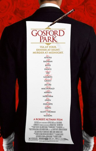 Gosford Park - Theatrical release poster