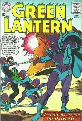 Evil Star - Image: Green Lantern 37