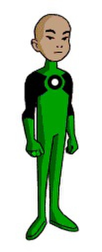Green Lantern in other media - Kai-ro as appeared in Batman Beyond.
