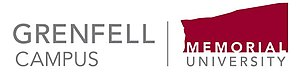 Grenfell Campus - Image: Grenfell Campus 2012logo