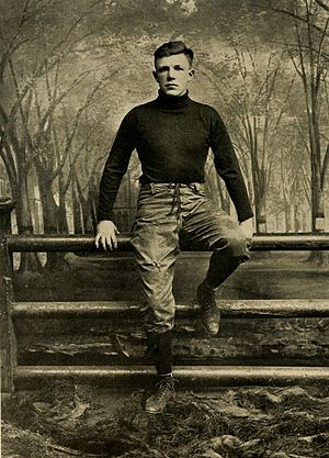 Hank Ketcham (American football) - Ketcham at Yale in 1913