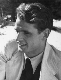 Hans Scholl German pacifist, executed by Nazi Germany