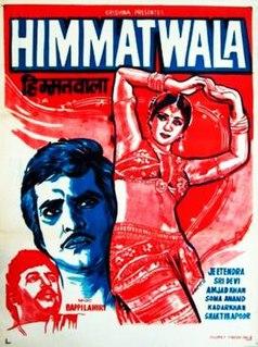 <i>Himmatwala</i> (1983 film) 1983 Indian film