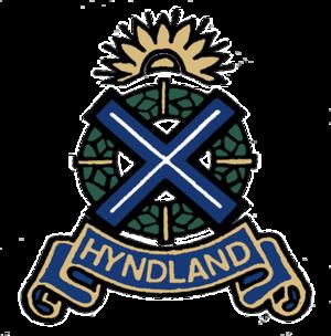 Hyndland Secondary School - Image: Hyndland Secondary School Badge