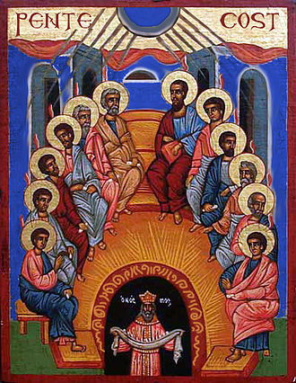 Pope John Paul II's relations with the Eastern Orthodox Church - Pentecost: The spread of Christianity begins.