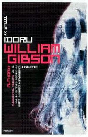 Idoru - cover of the United Kingdom edition