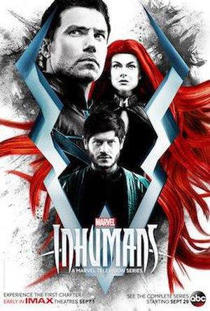 Episodes 1 and 2 (Inhumans) - Release poster
