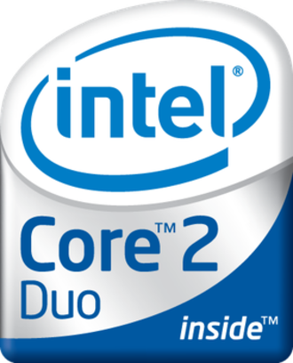 Intel Core 2 - Core 2 Duo logo